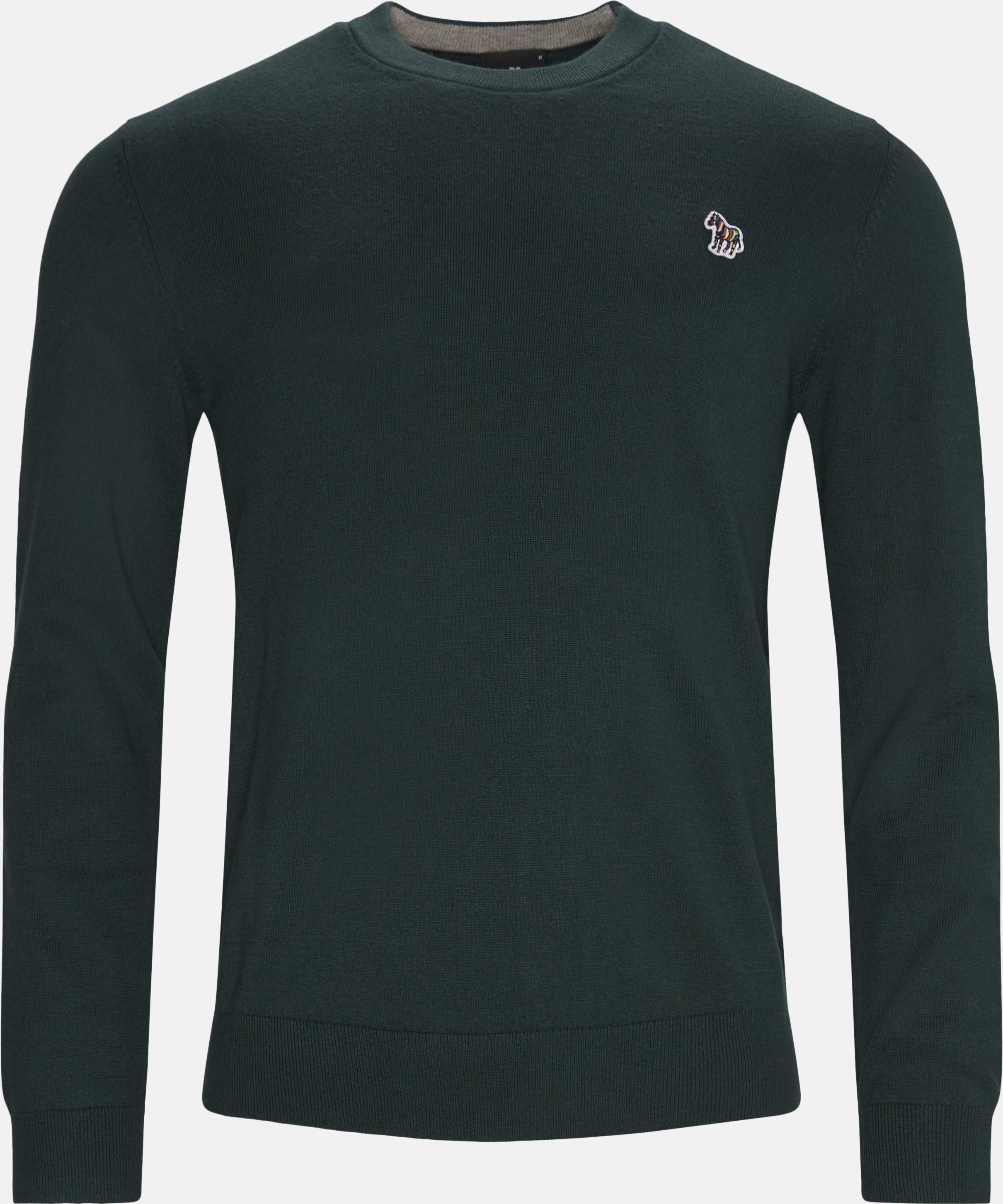Knitwear - Regular fit - Green